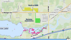 Proposed dredge sites