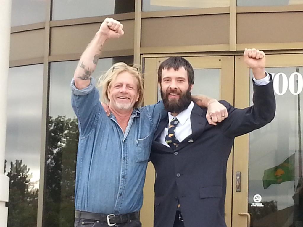 Jake and Al post pre-trial