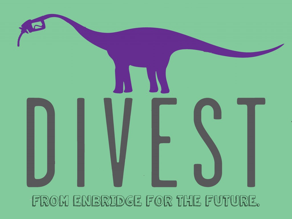 Divest from Enbridge