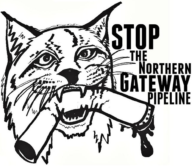 Stop the Northern Gateway Pipeline! Image designed by a friend and ally in Texas.