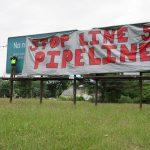 line5 billboard drop